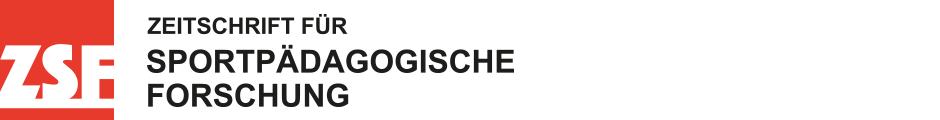 Zeitschrift für sportpädagogische Forschung ZsF